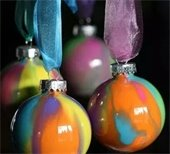 marble pain ornaments