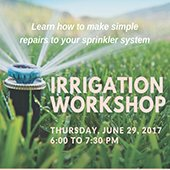 Irrigation Workshop
