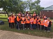 trash bash volunteers