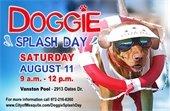 Doggie Splash Day is Aug. 11