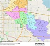 City of Mesquite redistricting plans