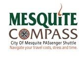 City of Mesquite Passenger Shuttle (COMPASS) logo