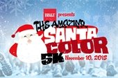 The Amazing Santacolor 5K is Nov. 10