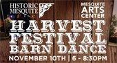 Harvest Festival Barn Dance Nov. 10