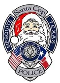 Mesquite Police Department Santa Cop Toy Program logo