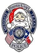 Mesquite Police Department Santa Cop Toy Program