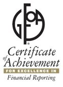 Accounting Department earns Certificate of Achievement
