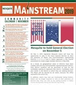Front cover of October Mainstream newsletter
