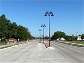 Gust Tomasson Road project at U.S. 80