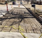 Bluefield Road construction