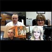 Cliff Keheley, Lisa Fox, Councilmember Dan Aleman, Glenda Matchett,