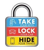 take lock hide logo