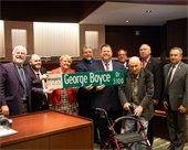 street named after former mayor George Boyce