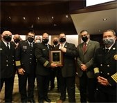 Firefighters receive recognition award
