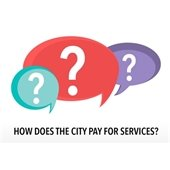 Budget Survey How does the city pay for services