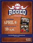 Mesquite Rodeo Parade flyer