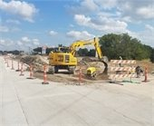 This project is for the total reconstruction of Gus Thomasson Road from U.S. 80 to Town East Boulevard.