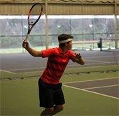kid playing tennis at westlake sports center