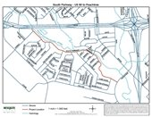 South Parkway Project map