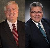Councilman Robert Miklos and Councilman Dan Aleman