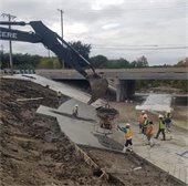 The improvements planned on South Mesquite Creek will reduce erosion along the drainage channel