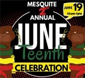 Mesquite 2nd annual Juneteenth
