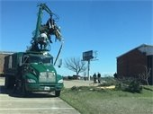 City crews cleaning up after storm