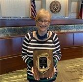 Elks Lodge 2021 award winner, Debbie Anderson