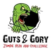 Guts and Gory Zombie Run logo