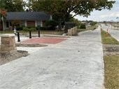 Astronaut plaza on Gus Thomasson Road