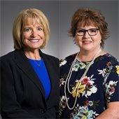 Glenda Matchett and Lisa Fox, speakers in the Community health forum