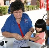 National night out fingerprinting