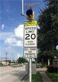 school zone flasher