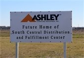 Ashley Furniture sign