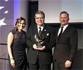 Aleman earns award