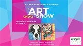 a.c. new middle school student art show