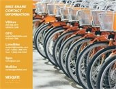 contact information for bike share programs