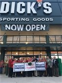 Dick's sporting goods grand opening