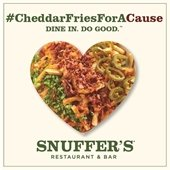 Cheddar Fries for a cause