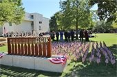 9/11 ceremony at Freedom Park