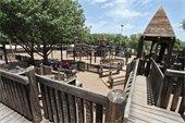 KidsQuest wooden playground