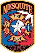 Mesquite Fire Department patch