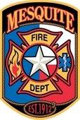 Mesquite Fire Department logo