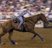 barrel racer rodeo