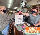 Shop Mesquite, young girl shopping at local business