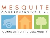 Mesquite Comprehensive Plan logo text: Connecting the Community