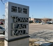 Town East Mall sign