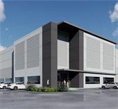 rendering of Mesquite Airport Logistics Center