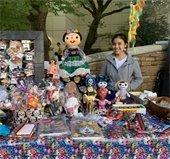vendor at mesquite arts center event