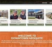 Downtown Mesquite Website